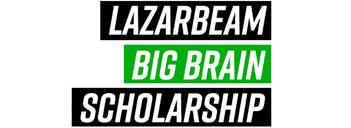 lazarbeam big brain scholarship